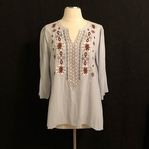 Andre embroidered blouse